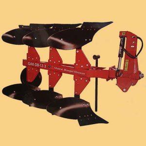 گاوآهن دو طرفه سه خیش ۱۲ اینچ GAK