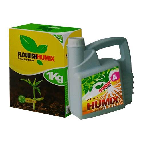 ( کود هیومیک Flourish Humix ) کود هیومیکس مایع و جامد فلوریش