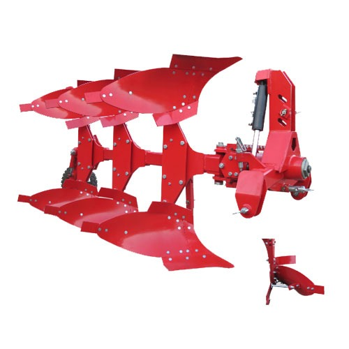 گاو آهن دو طرفه ۳ خیش ۱۲ اینچ هیدرولیکی