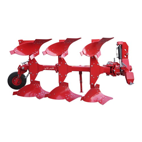 گاوآهن دو طرفه ۳ خیش ۱۲ اینچ هیدرولیکی