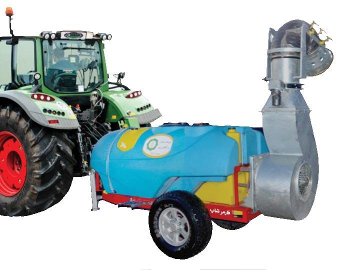 خرید سمپاش های پشت تراکتوری توربین دار زراعی ( سمپاش توربولاینر )
