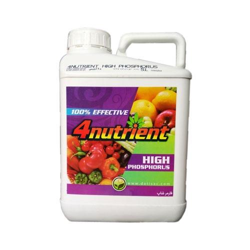 کود فورنوترینت های فسفر (DATIS 4nutrient HIGH PHOSPHORUS)