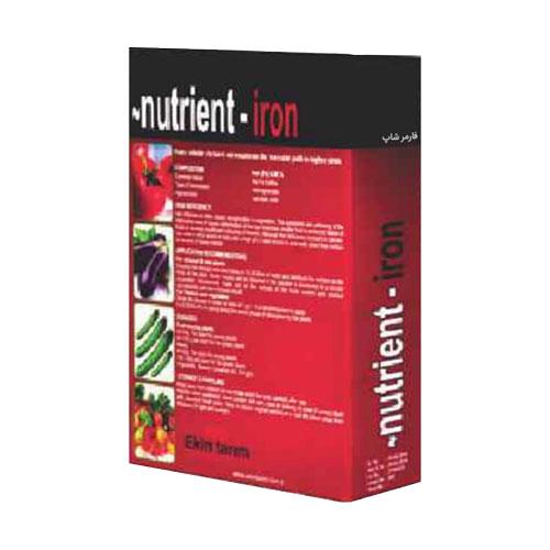 کود نوترینت آهن (Nutrient iron)